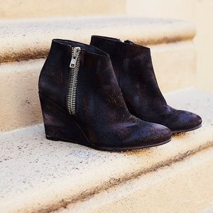 Free People Orlando Wedge Booties